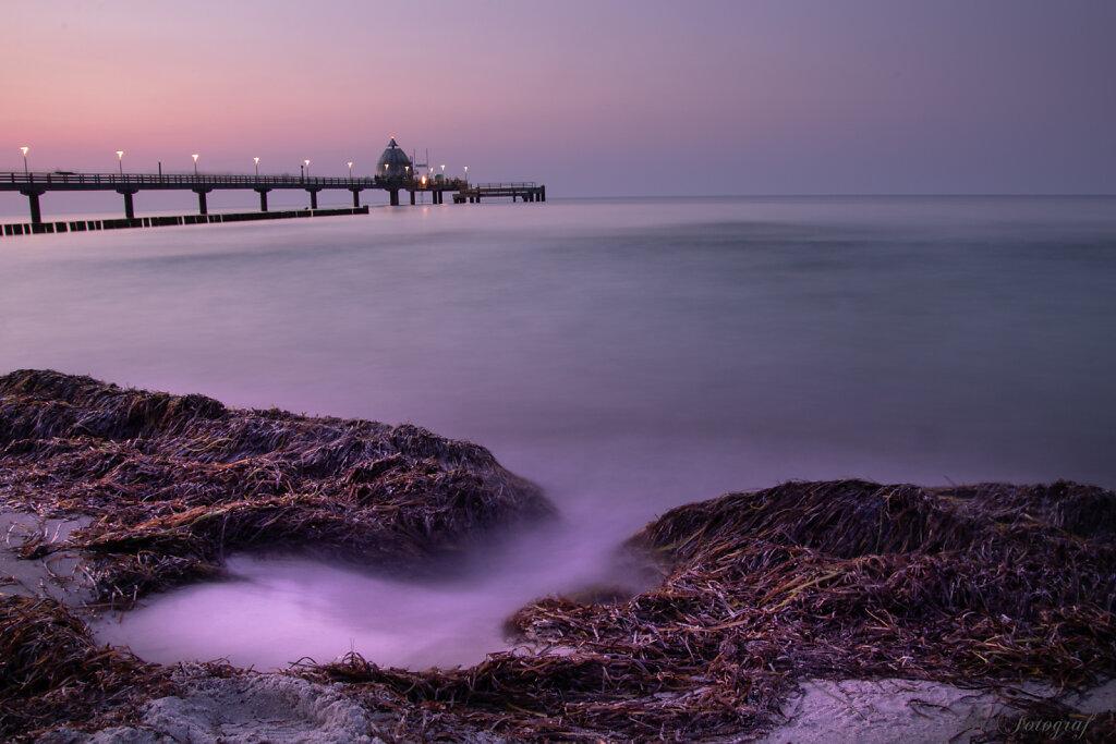 Blue Hour at the Baltic Sea Coast